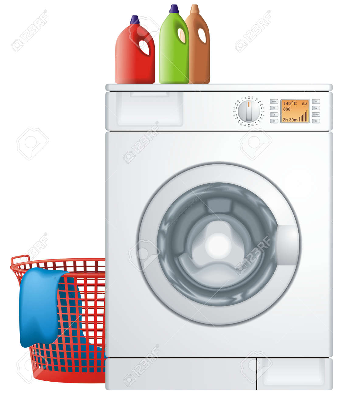 washing machine and dryer clip art. washing machine stock vector - 8609665 and dryer clip art i