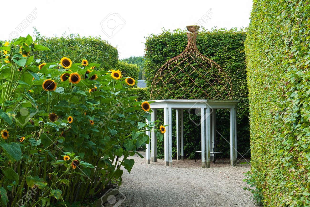 Schone Dekorative Hause Gartenhof Pavillon Pavillon Aus Holz Und