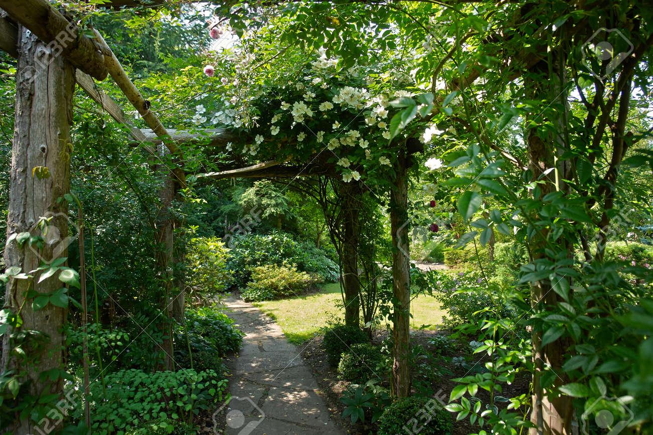 Schöne Gartenprojekt Kreative Gartentunnel Torbogen In Einem