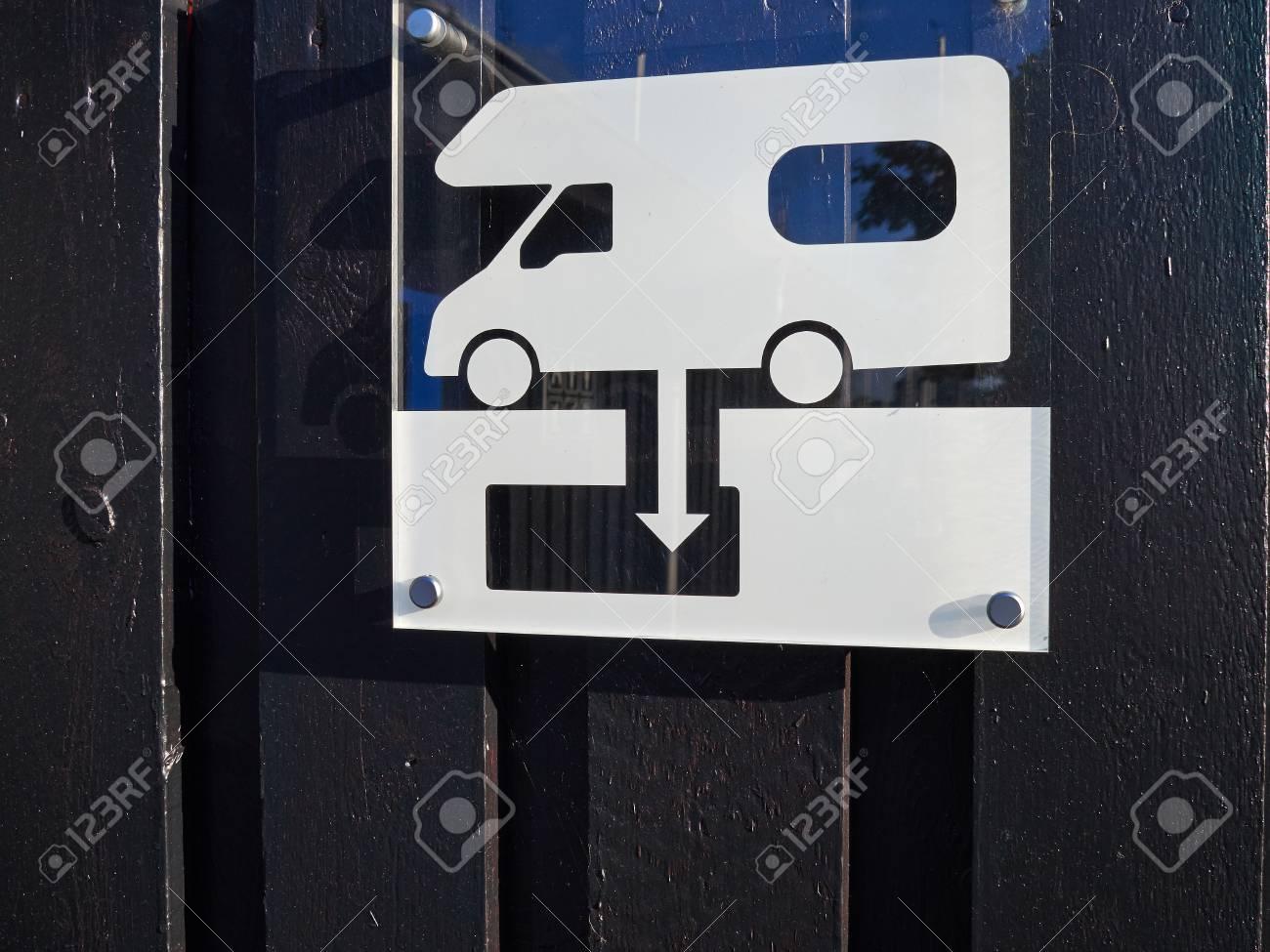 Camping-car d'égout de RV