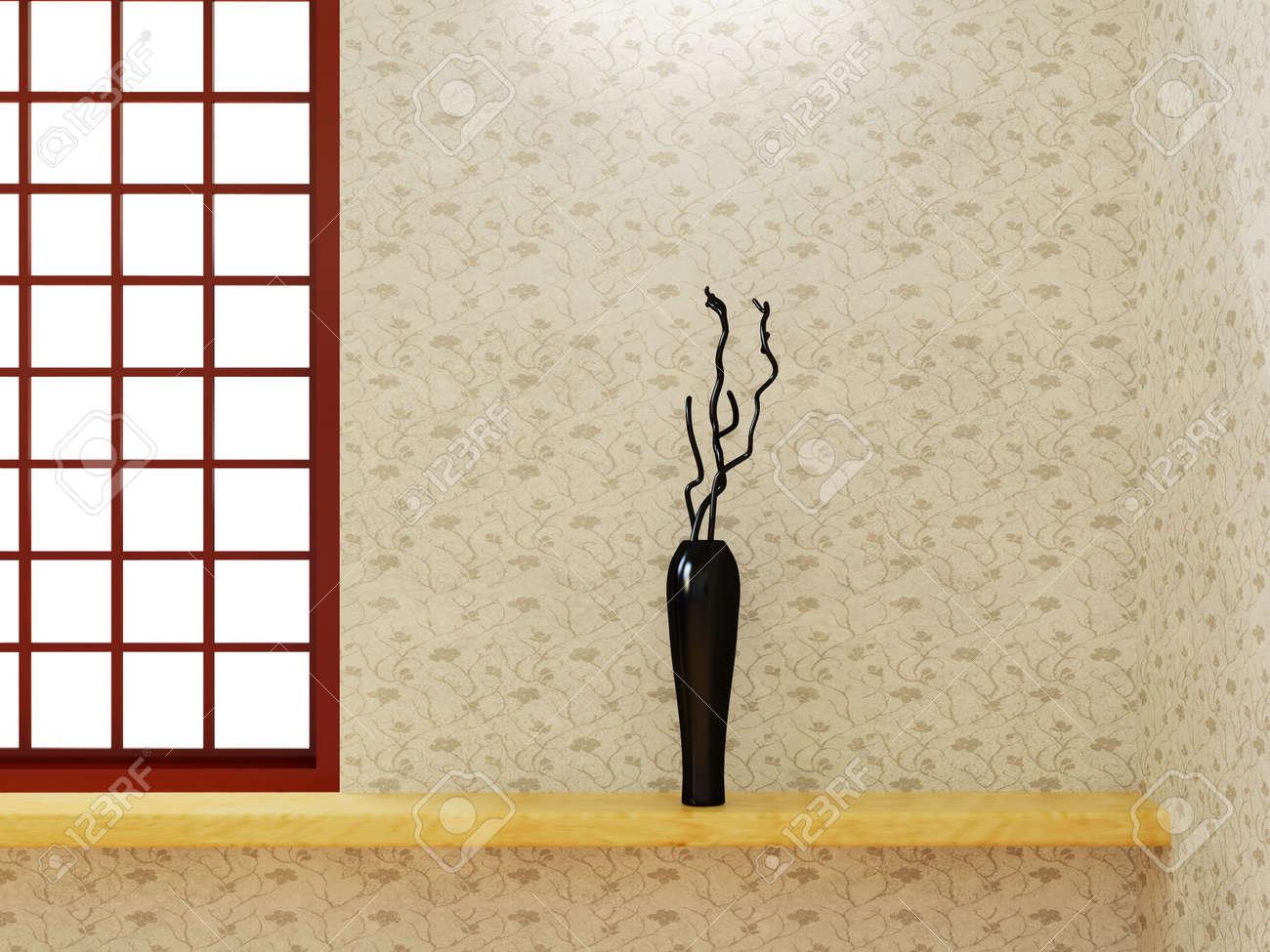 Modern Interieur Living : Bild mit hoher auflösung inneren d illustration modern interior