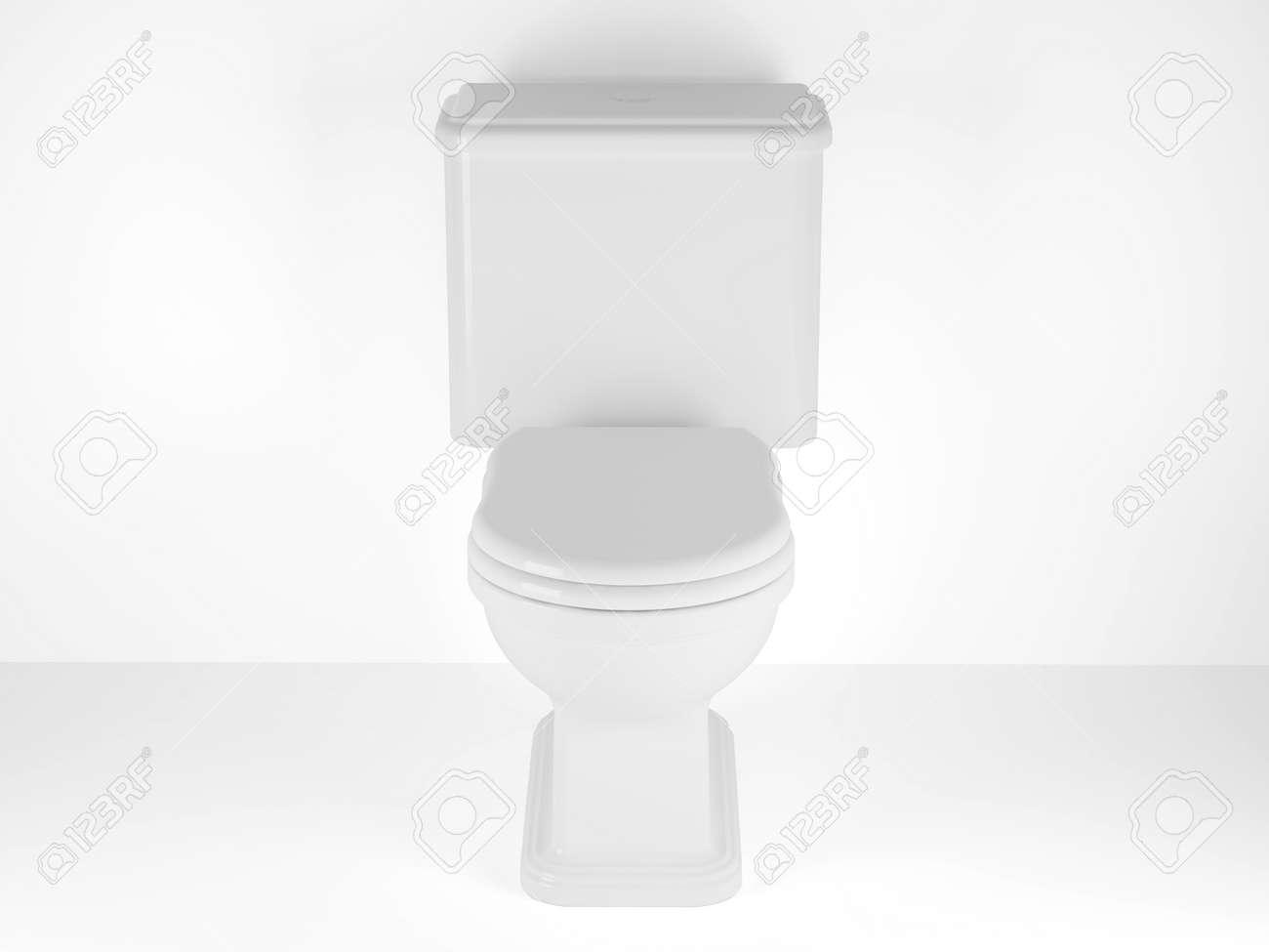 Imagen De Alta Resoluci N 3d Rindi La Ilustraci N Taza Del  ~ Como Limpiar El Fondo Del Inodoro