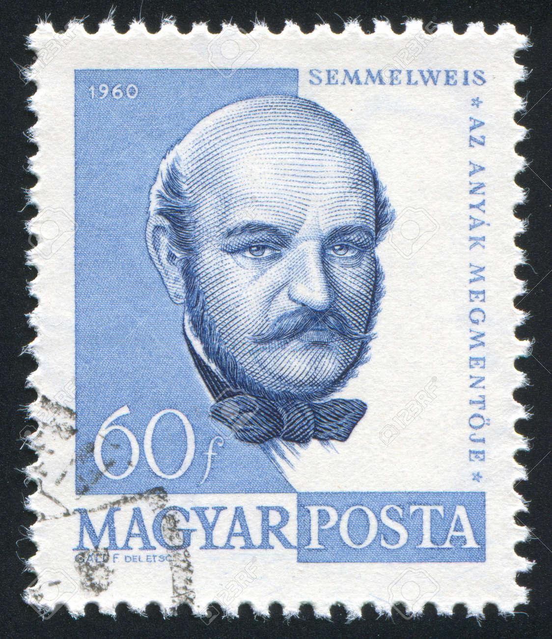 ハンガリー - 1960 年頃: 切手が...