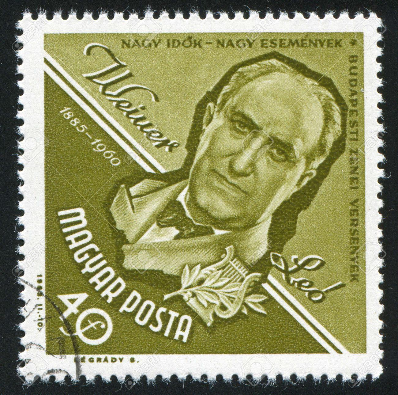 ハンガリー - 1963 年頃: 切手が...