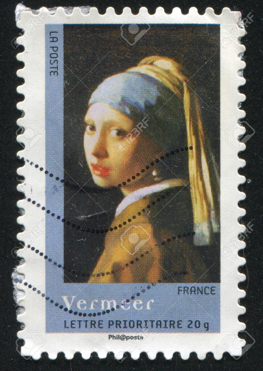 Frankreich Circa 2008 Stempel Gedruckt Von Frankreich Zeigt