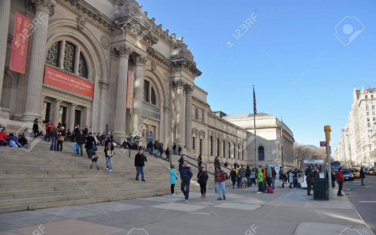 MARCH  MANHATTAN NEW YORK USA The Metropolitan - Private museums in usa