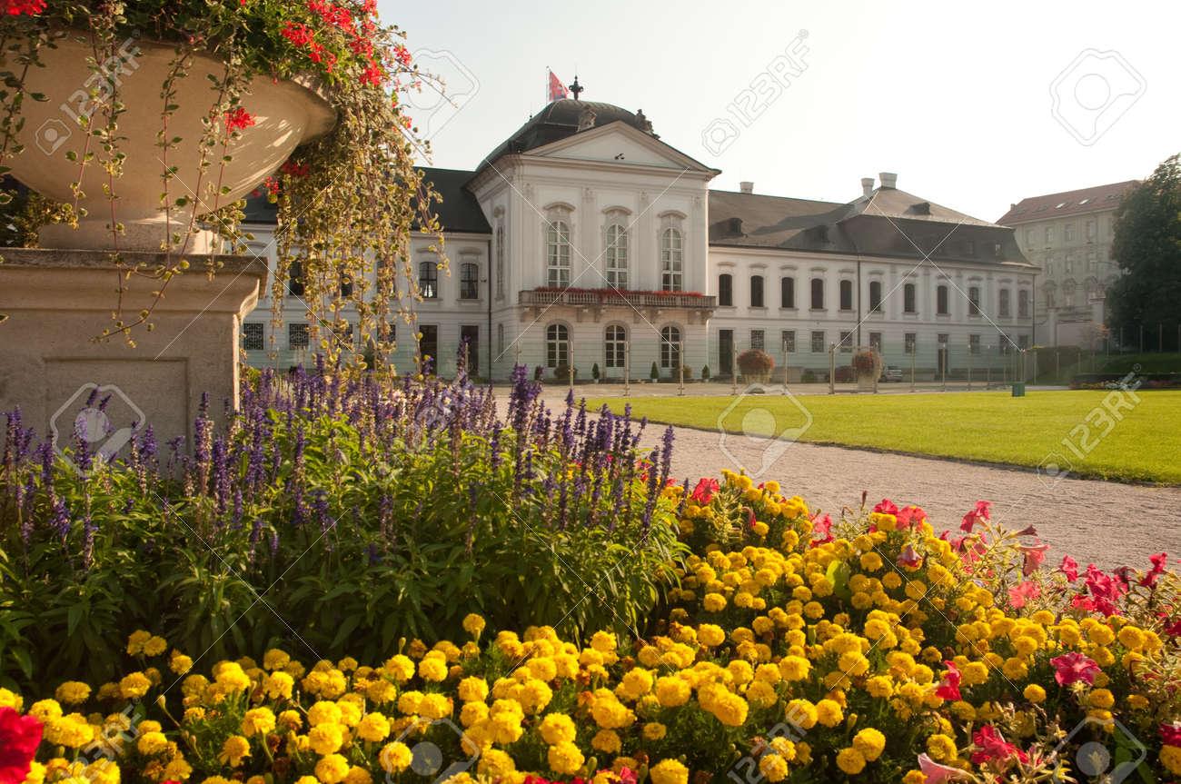 Gardens Behind The Grassalkovich Palace (slovak: Grassalkovicov ...