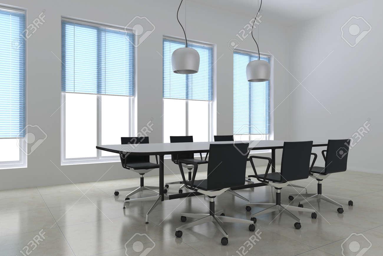 3d render modern meeting room Stock Photo - 11853023