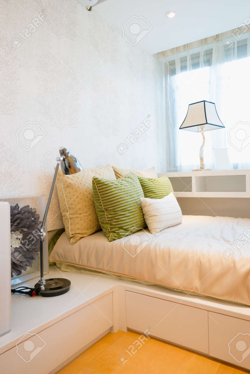 the bedroom with modern style Standard-Bild - 20023967