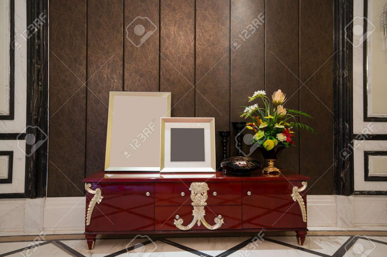 Huis interieur met mooie decoratie royalty vrije foto plaatjes