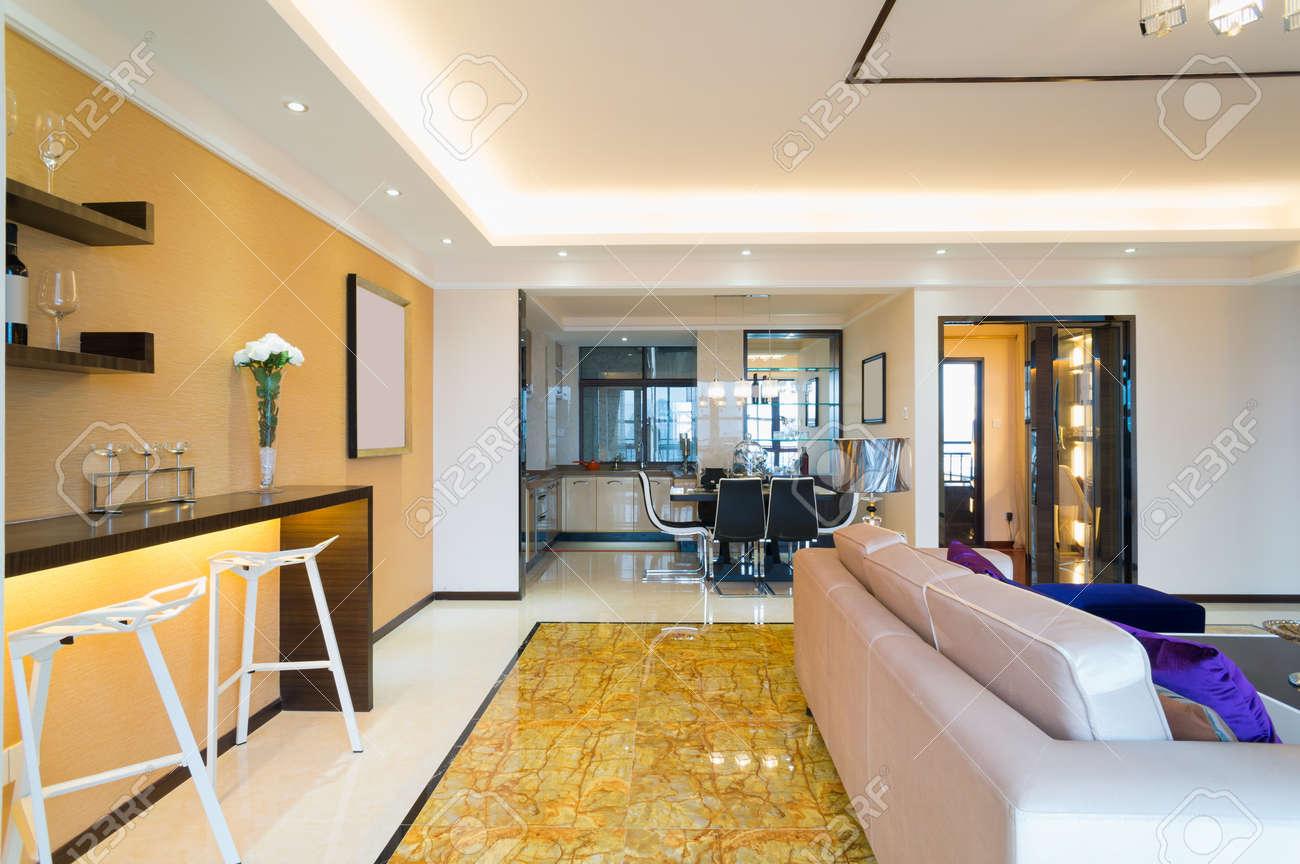 La décoration intérieure de la maison moderne
