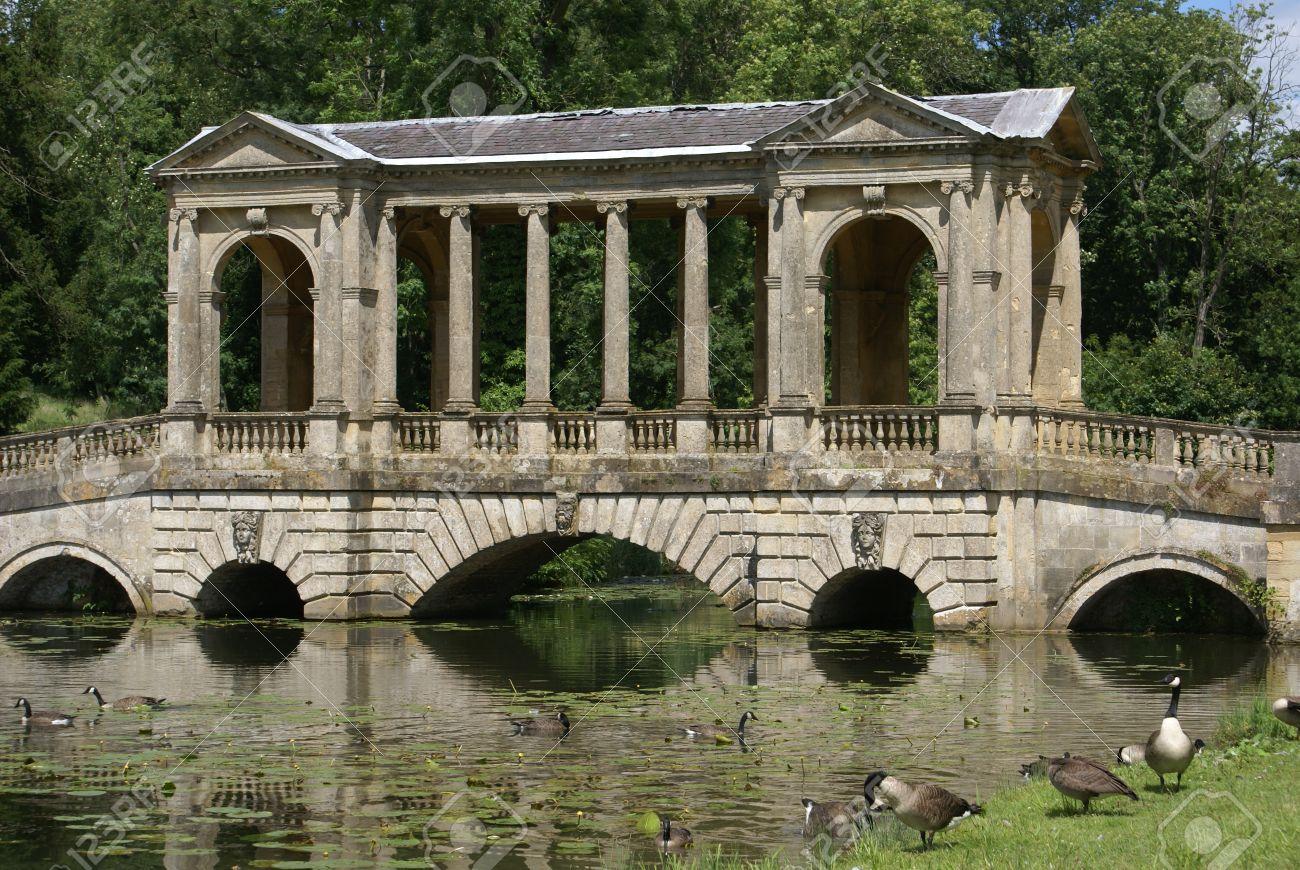 Palladian bridge at stowe landscape gardens in england stock photo palladian bridge at stowe landscape gardens in england stock photo 39880946 workwithnaturefo