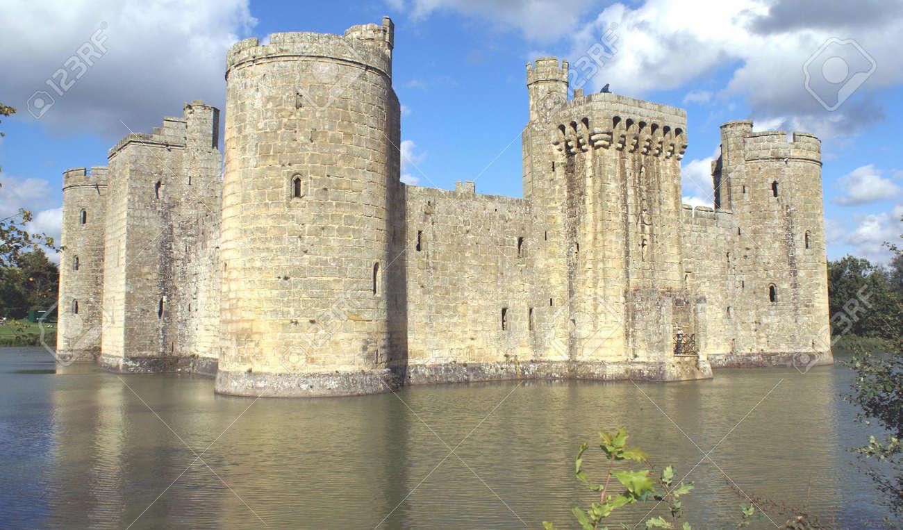 Bodiam Castle, England Stock Photo   57460702