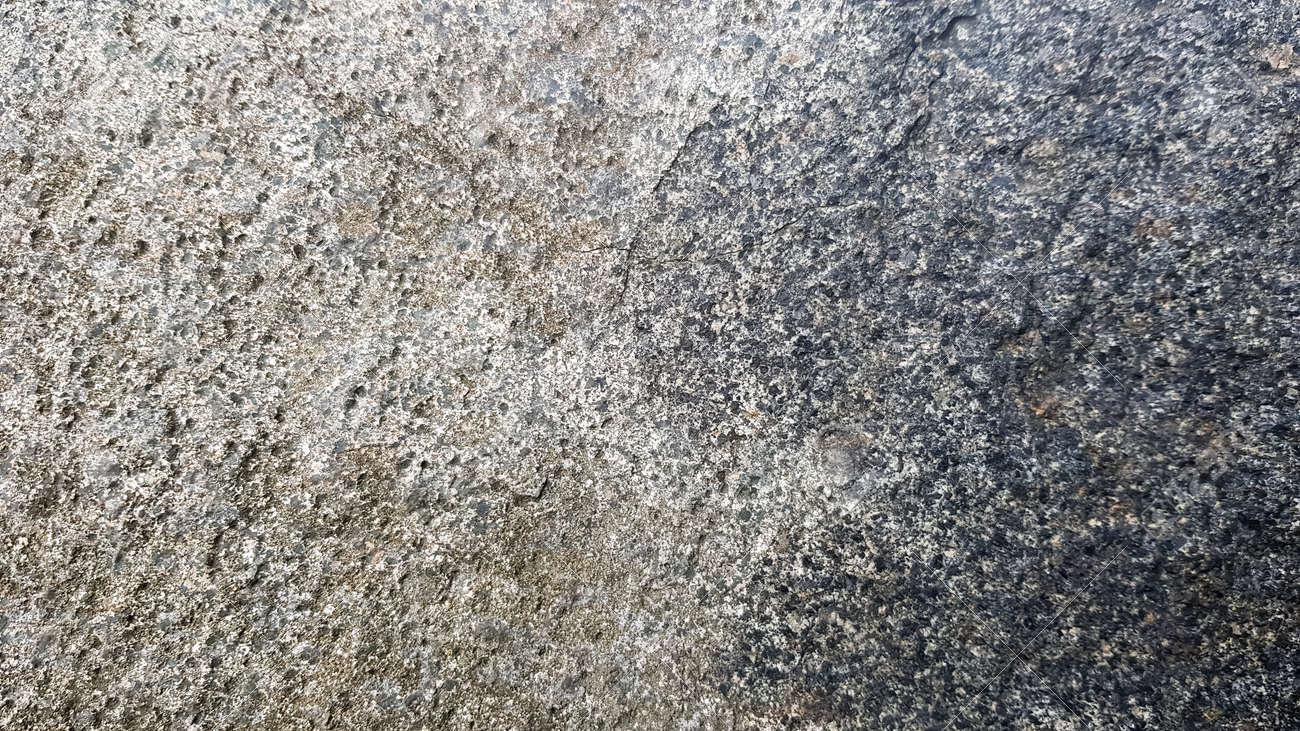 stone texture or background. Coarse cracked stone structure of the face. empty gray stone texture or background. - 173010964
