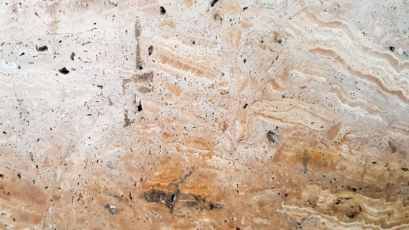Granite stone texture. Brown golden stone background. old empty stone wall surface or ancient dirty brown paper texture background brown or beige. brown gold grunge - 173011325