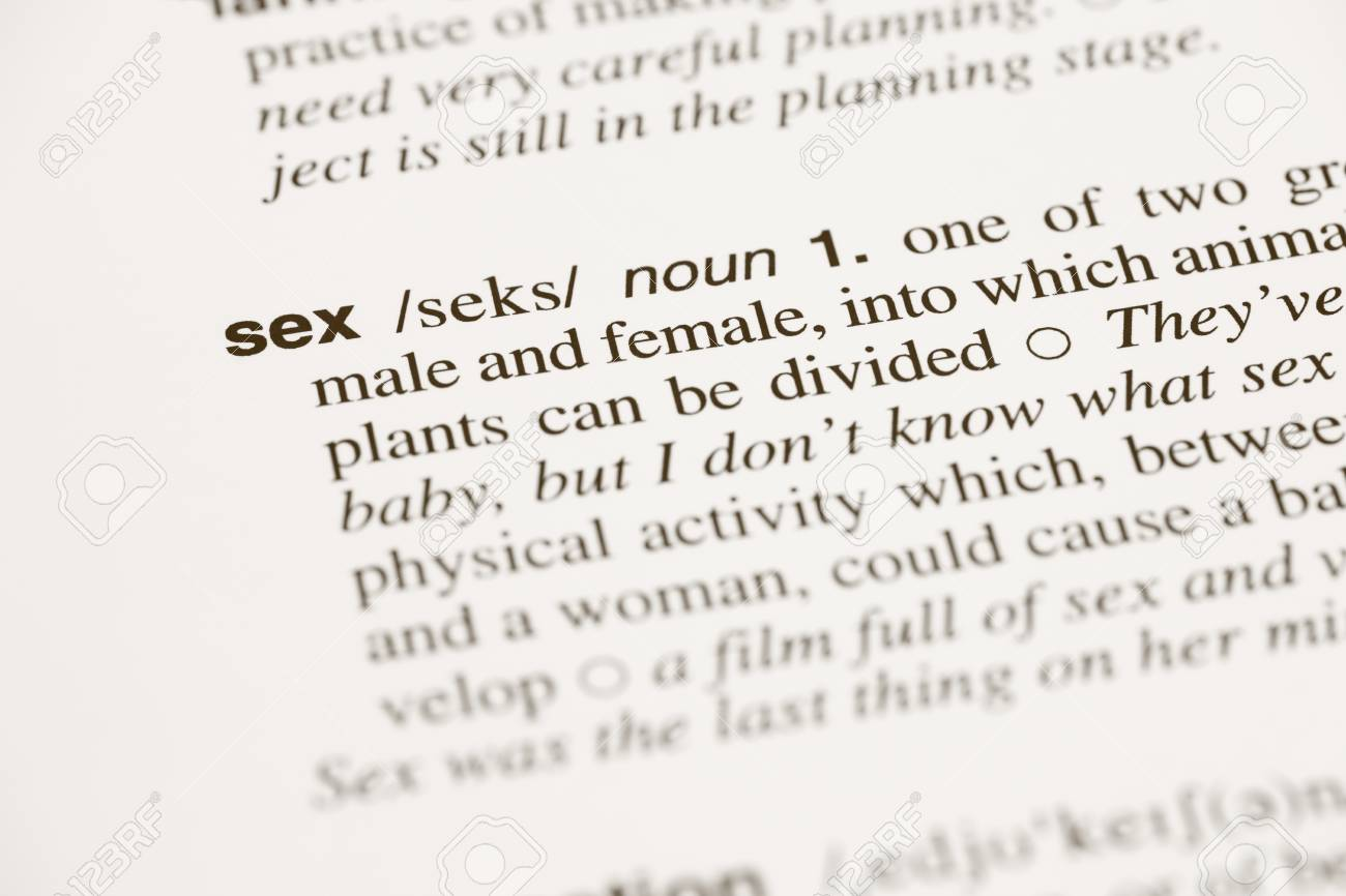 Noun sex
