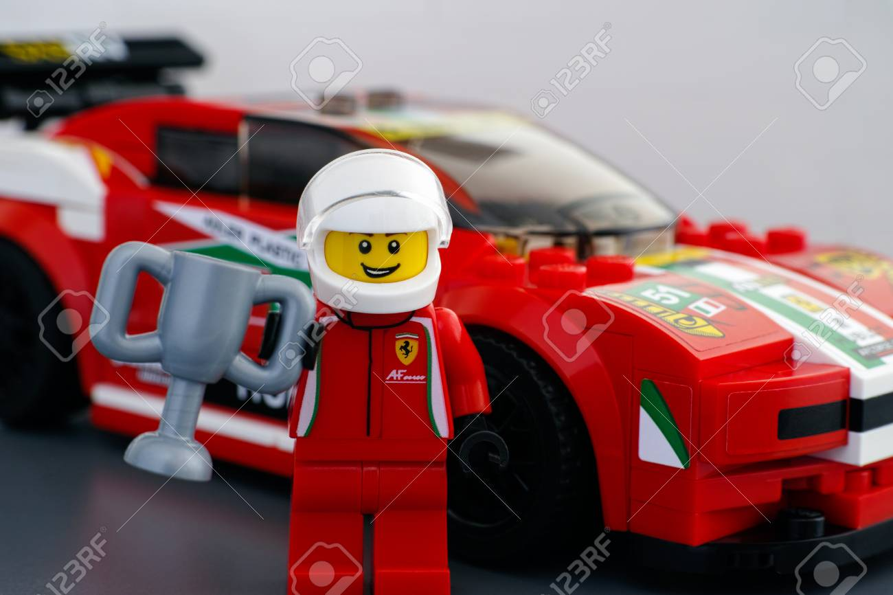 Tambov Russian Federation March 18 2015 Lego Ferrari Driver Stock Photo Picture And Royalty Free Image Image 51342957