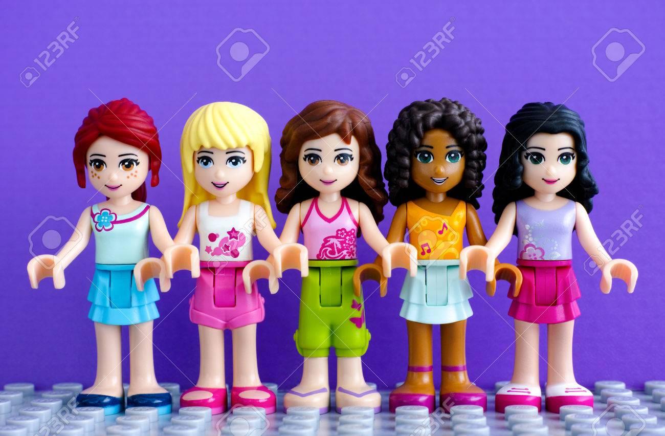 Tambov Russian Federation April 01 2016 Lego Friends Girl