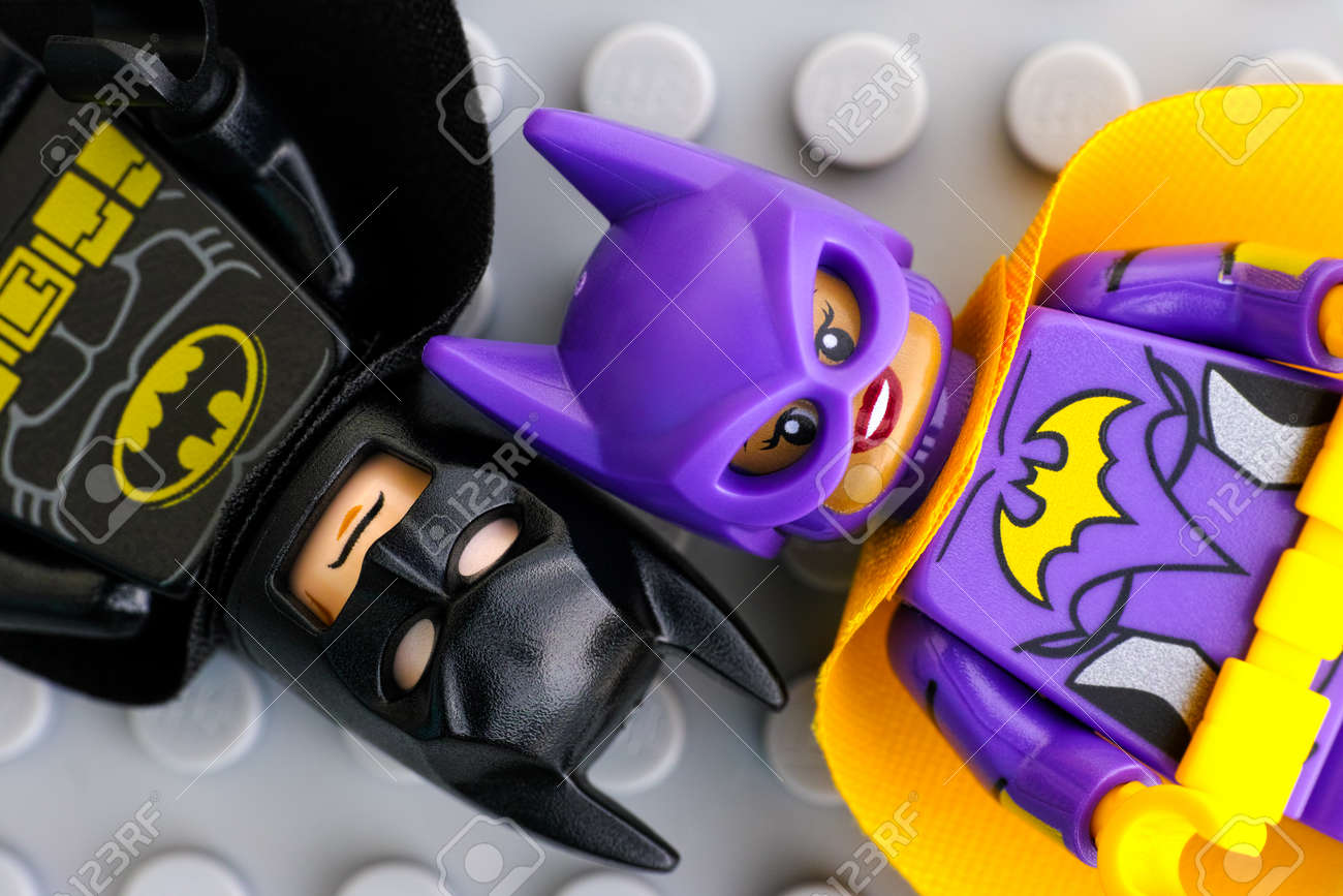 Tambov Russian Federation February 11 2017 Lego Batman Movie Stock Photo Picture And Royalty Free Image Image 76286569