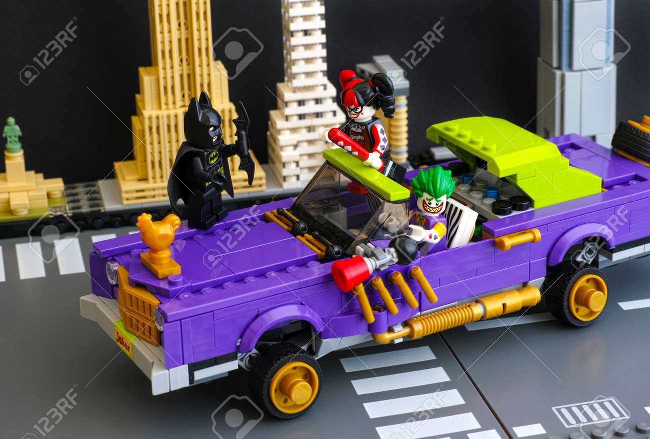 Tambov Russian Federation February 11 2017 Lego Batman Movie Stock Photo Picture And Royalty Free Image Image 82536639