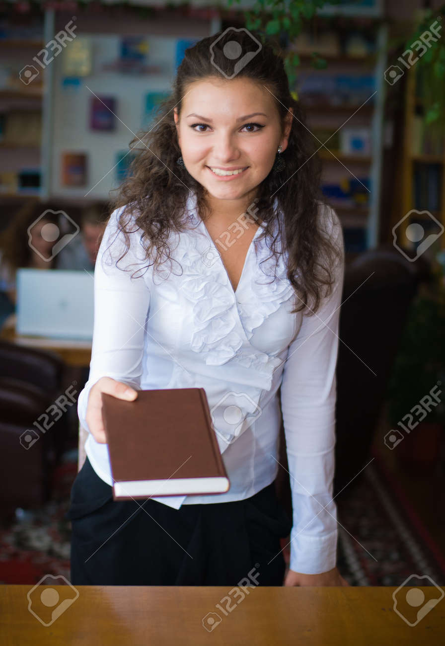 Librarian assistant Stock Photo - 14335030