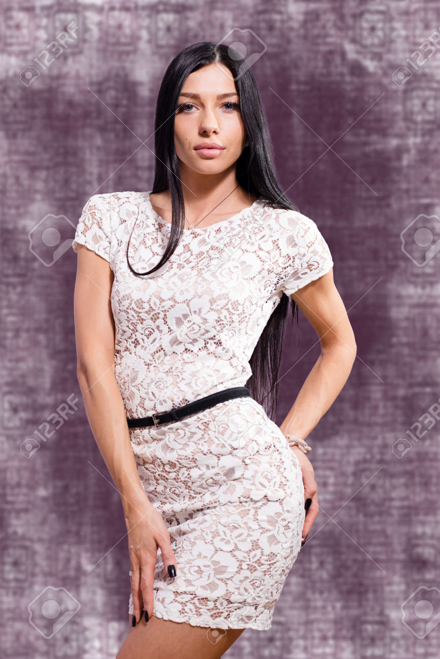 8bb5ea50f vestidos en guipur blanco