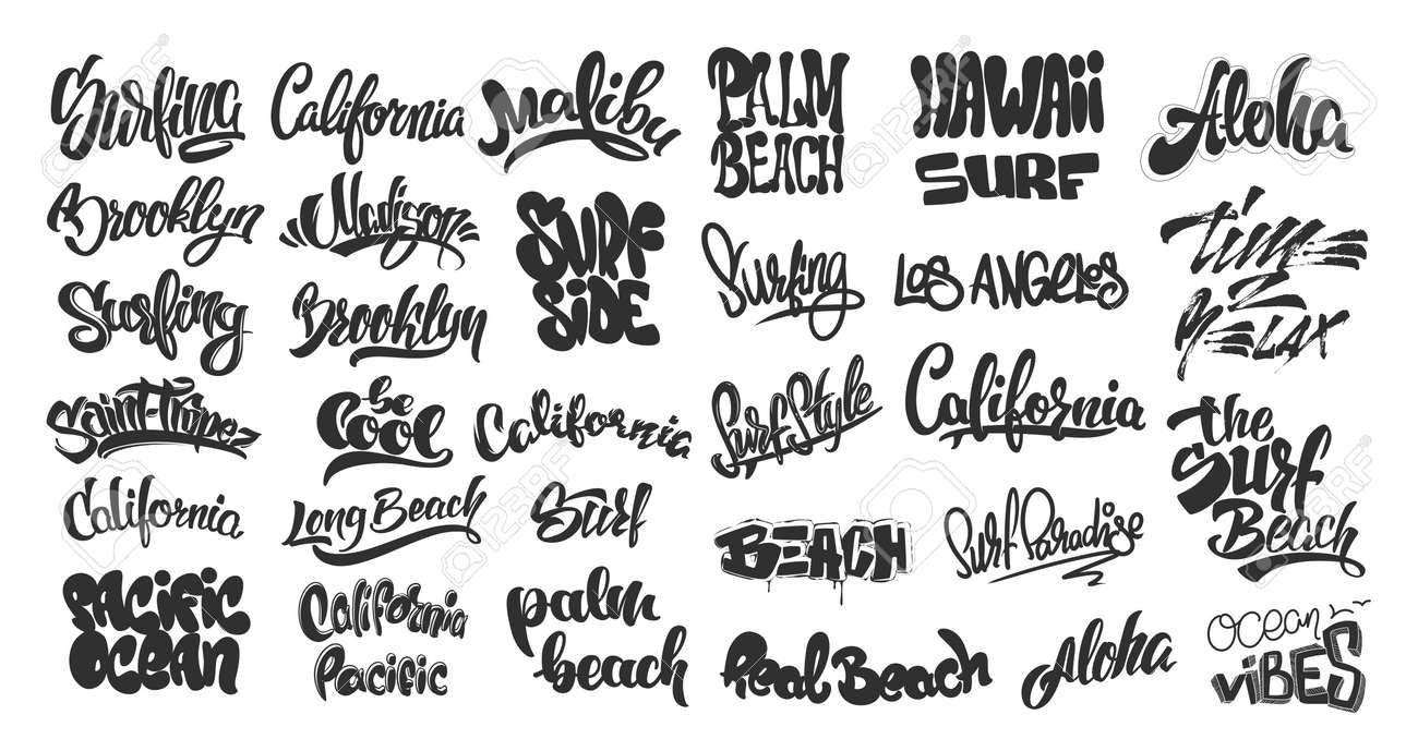 Surfer names