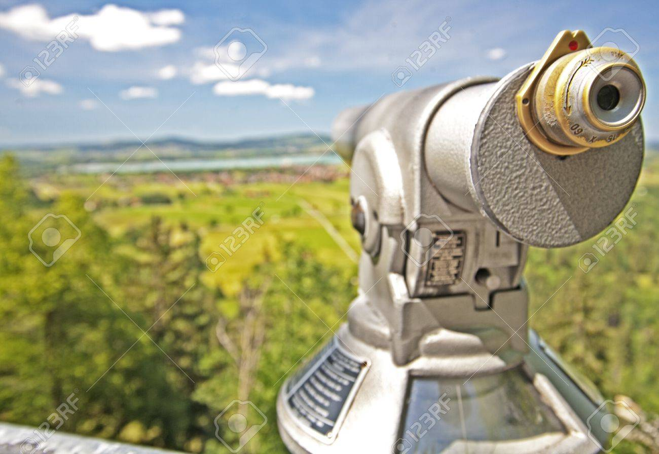 Up close with a sight seeing scope in Germany Stock Photo - 10319212