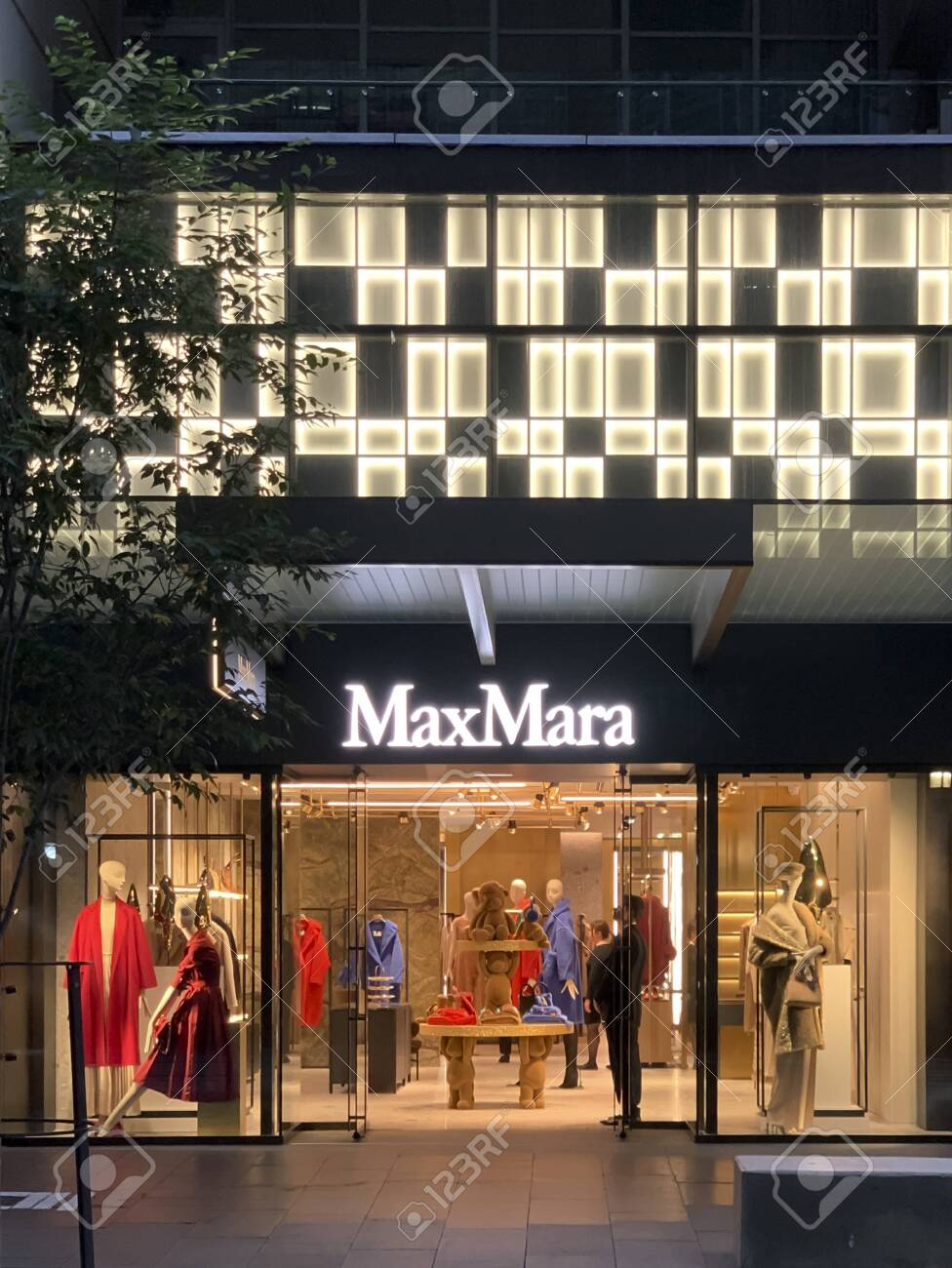 Sydney Australia 24 December 2019 Max Mara Store On George Stock Photo Picture And Royalty Free Image Image 137450324