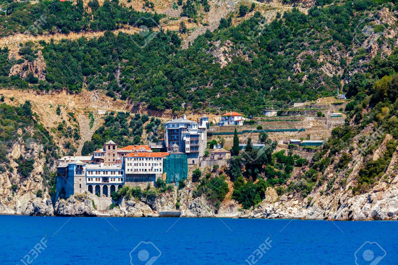 Dionissiou 修道院、アトス半島...
