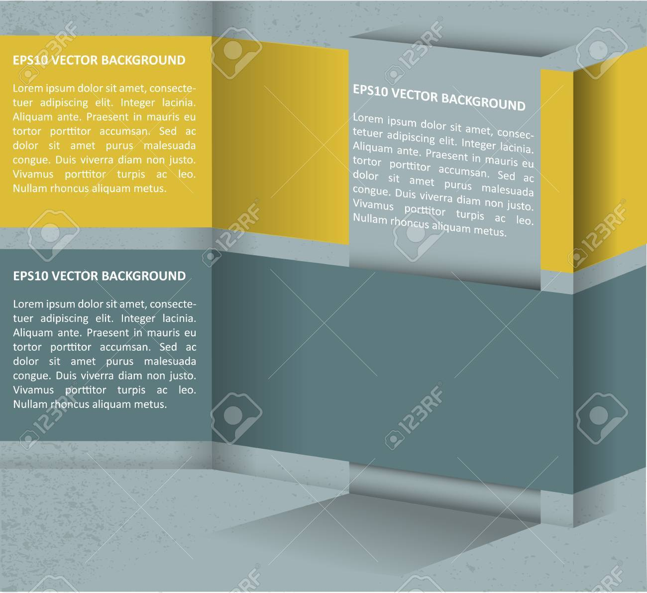 Abstract vector grunge retro background for text Stock Vector - 13379120