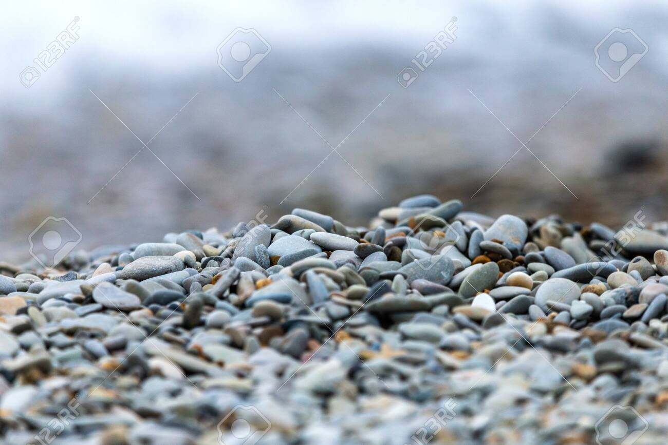 Small blue-gray stone background, natural stone pattern selective