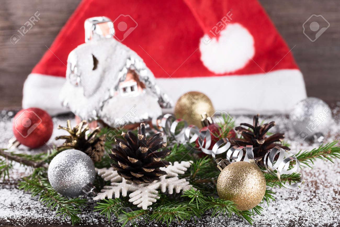 Weihnachts- Oder Des Neuen Jahresdekoration Mit ...