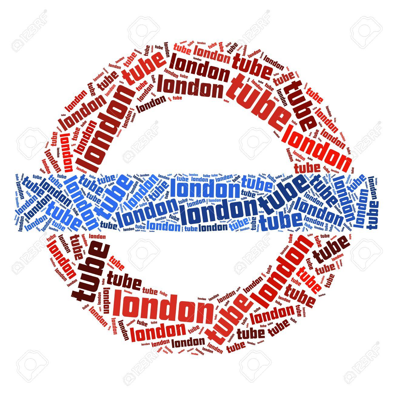 London underground symbol text graphic and arrangement concept london underground symbol text graphic and arrangement concept on white background stock photo 13095082 buycottarizona Images
