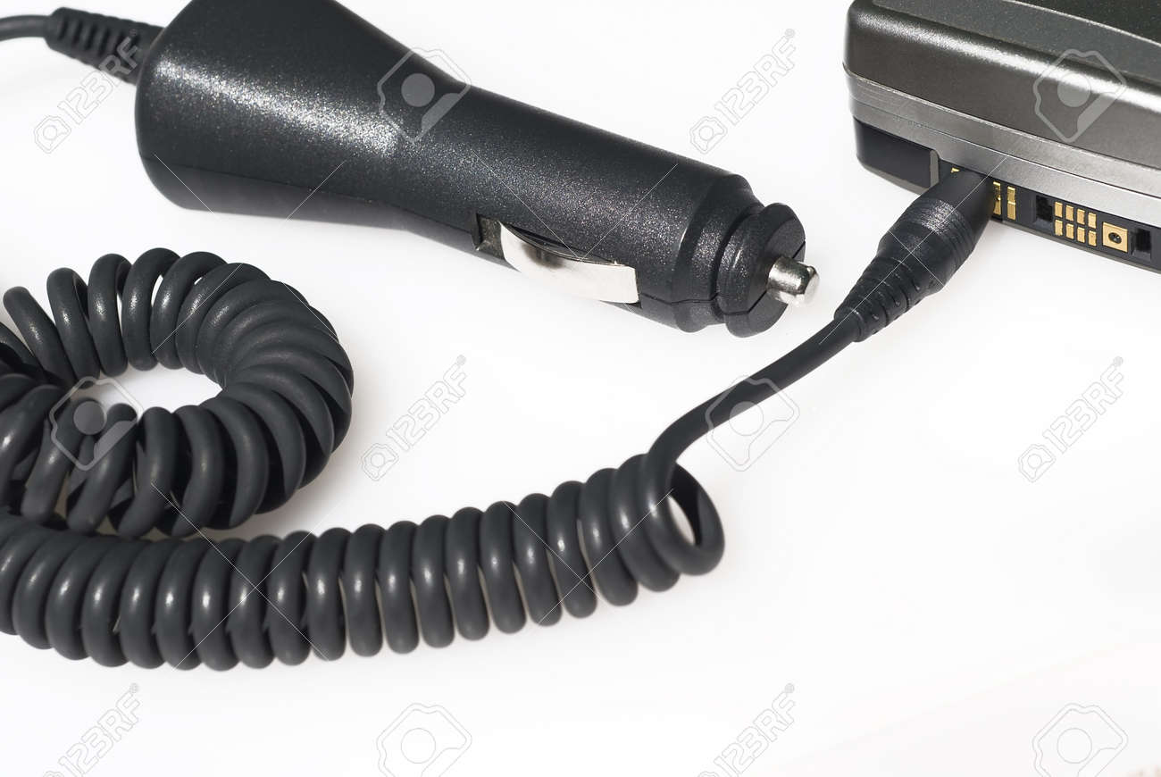 mobile phone charger Stock Photo - 10878229