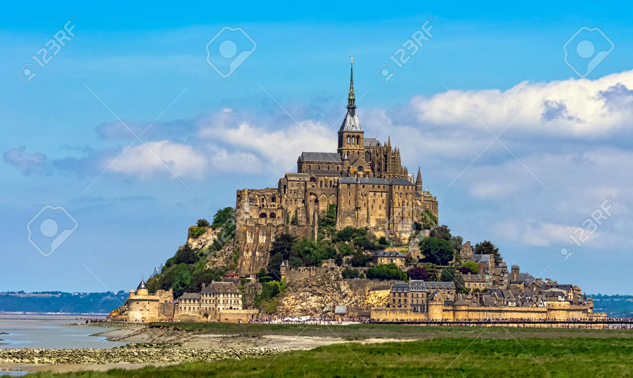 Le Mont Saint Michel - Normandy, France - 124731420