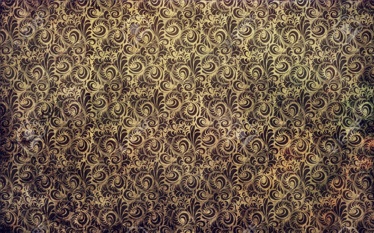 victorian wallpaper texture  Dirty Victorian Floral Wallpaper Texture Stock Photo, Picture And ...