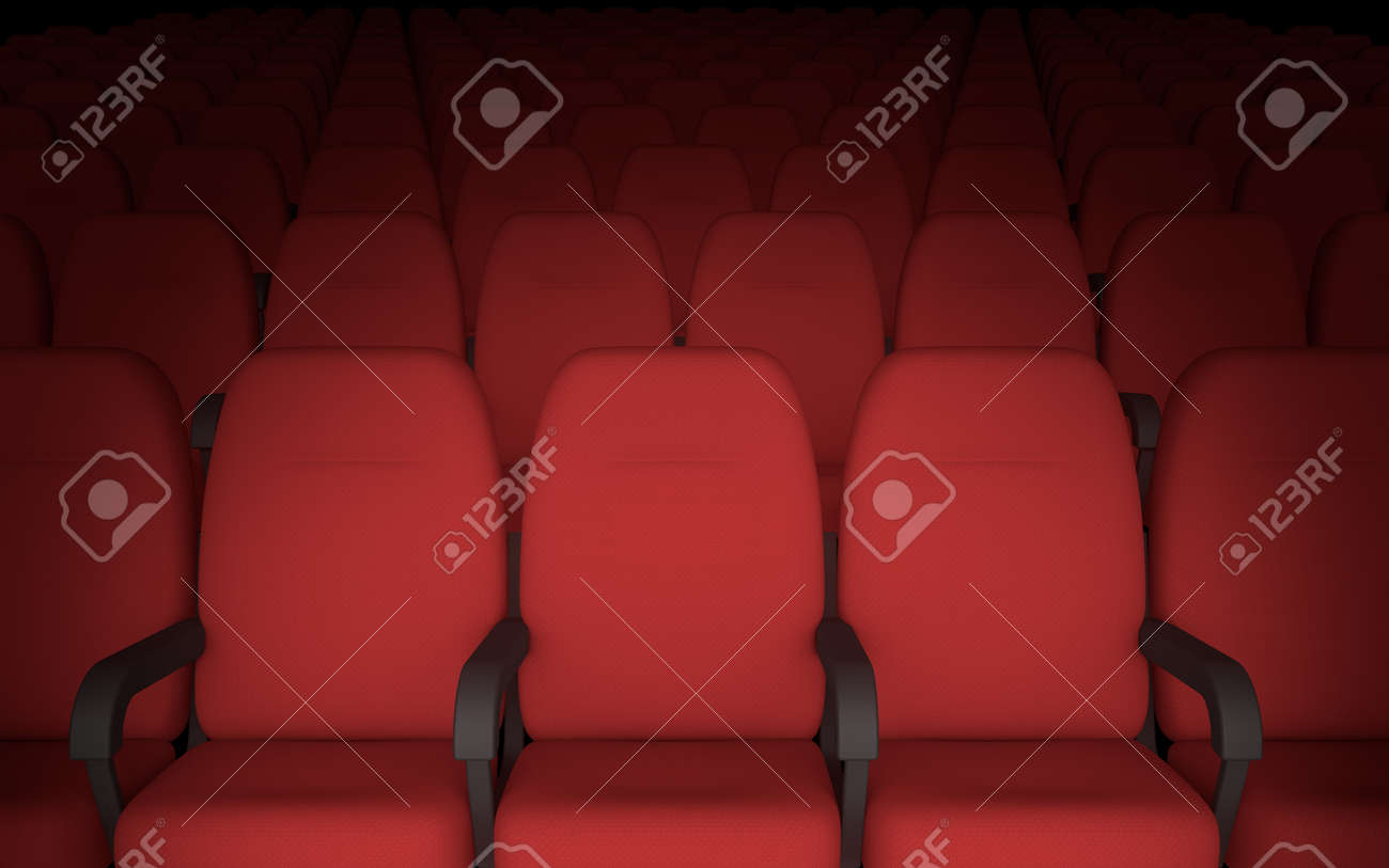 Empty Movie Theatre Chairs Background Stock Photo Picture And Royalty Free Image Image 26245781
