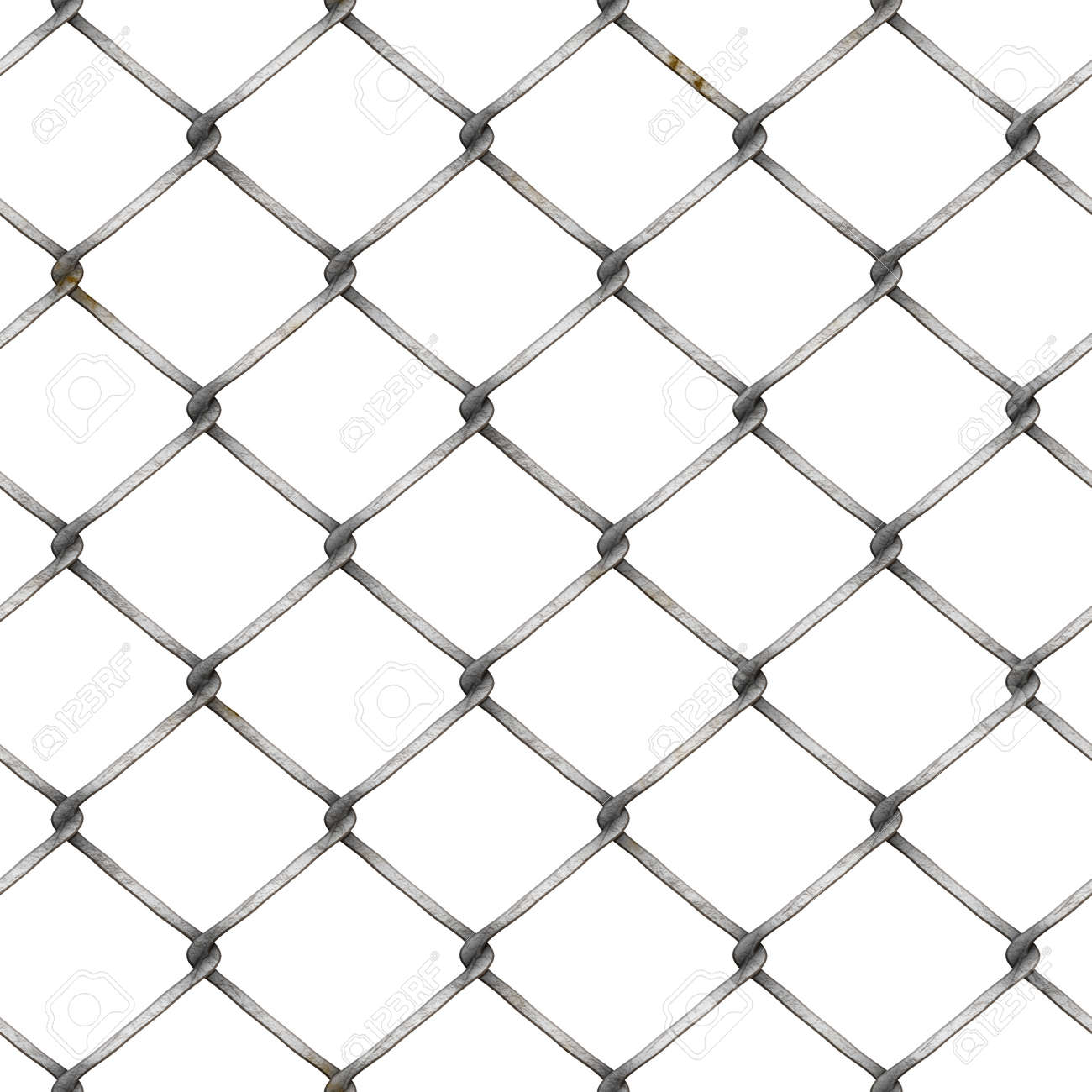 Wire Mesh Fence At White Background,wire Fence Stock Photo, Picture ...