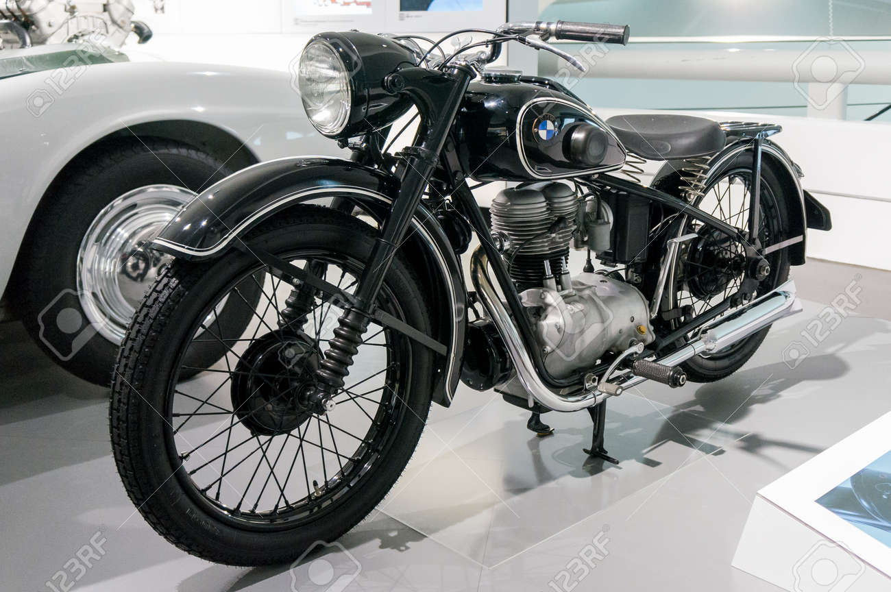 Munich Germany March 10 2016 Motorcycle In Museum Bmw Welt Stock Photo Picture And Royalty Free Image Image 88518068