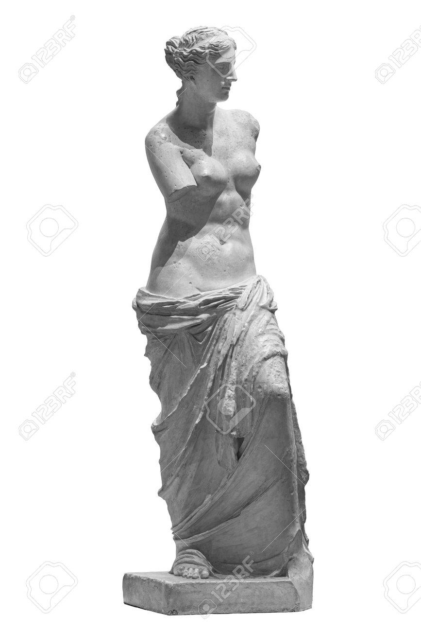Aphrodite of Melos Venus de Milo statue in Louvre Paris - 169669053