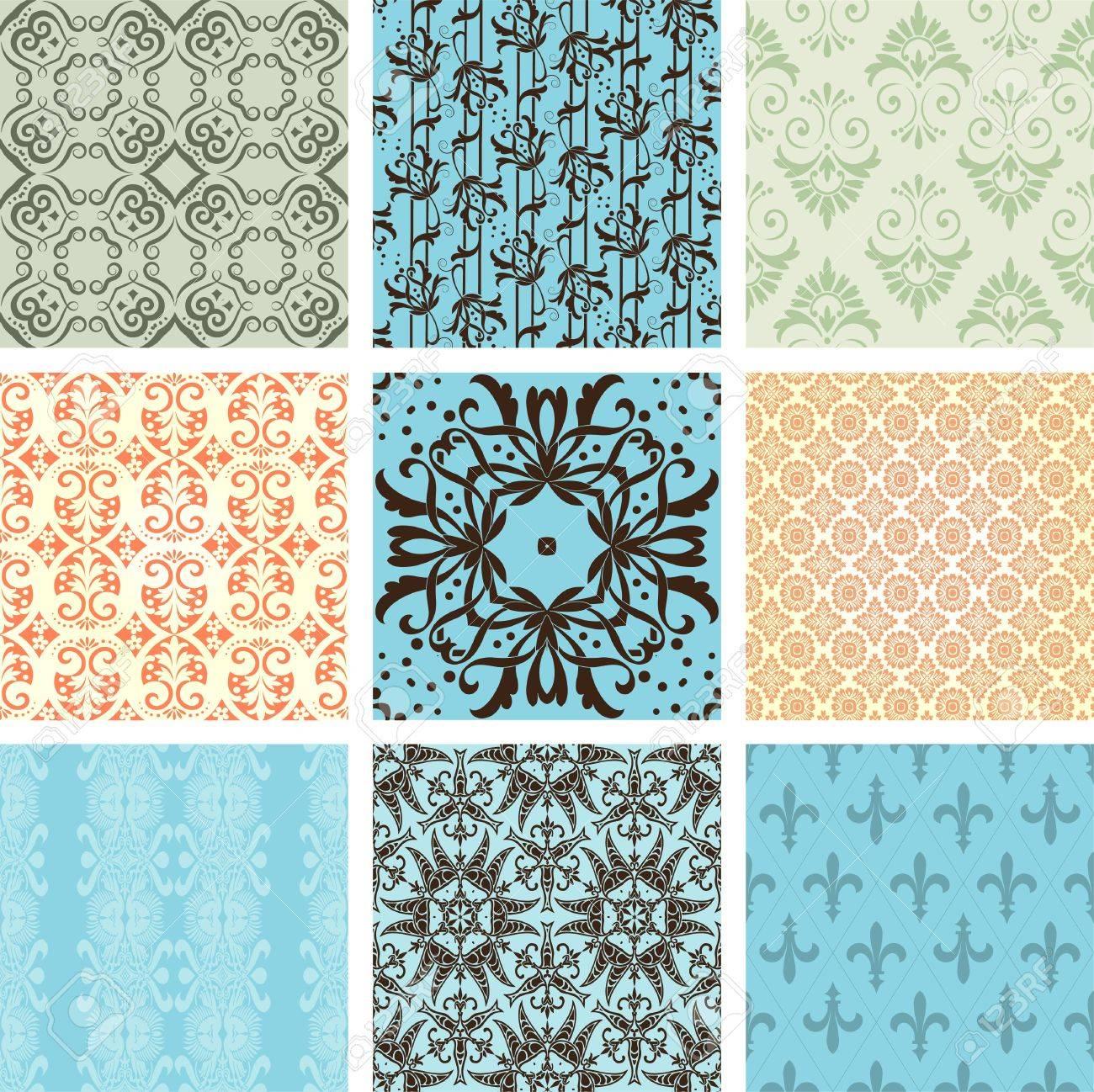 Seamless wallpaper Stock Vector - 11858613