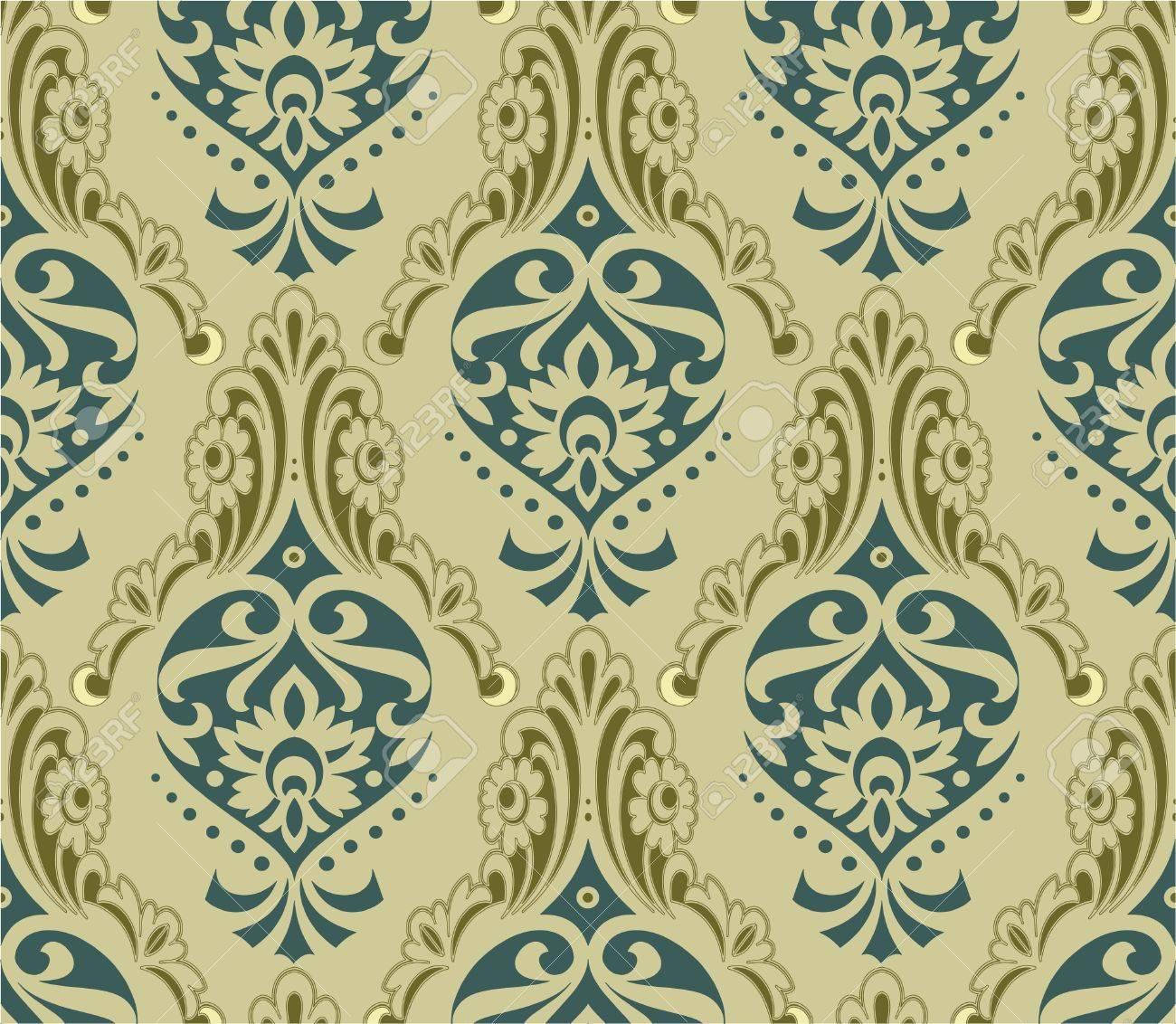 retro wallpaper Stock Vector - 12403763