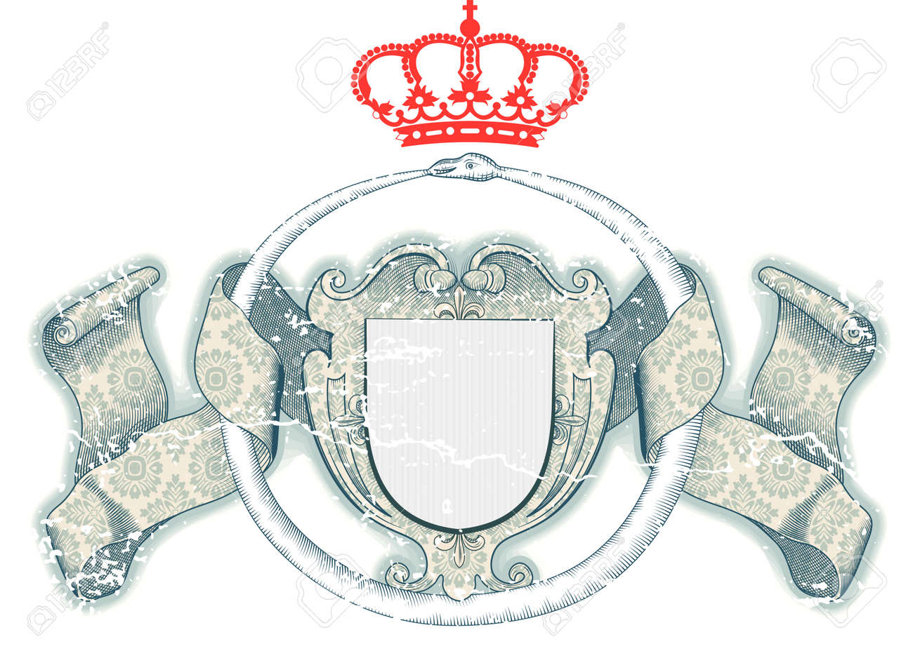 Royal Shield Stock Vector - 12901185
