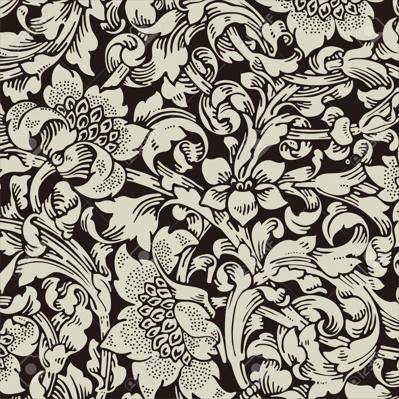 レトロな壁紙のイラスト素材 ベクタ Image 13188760
