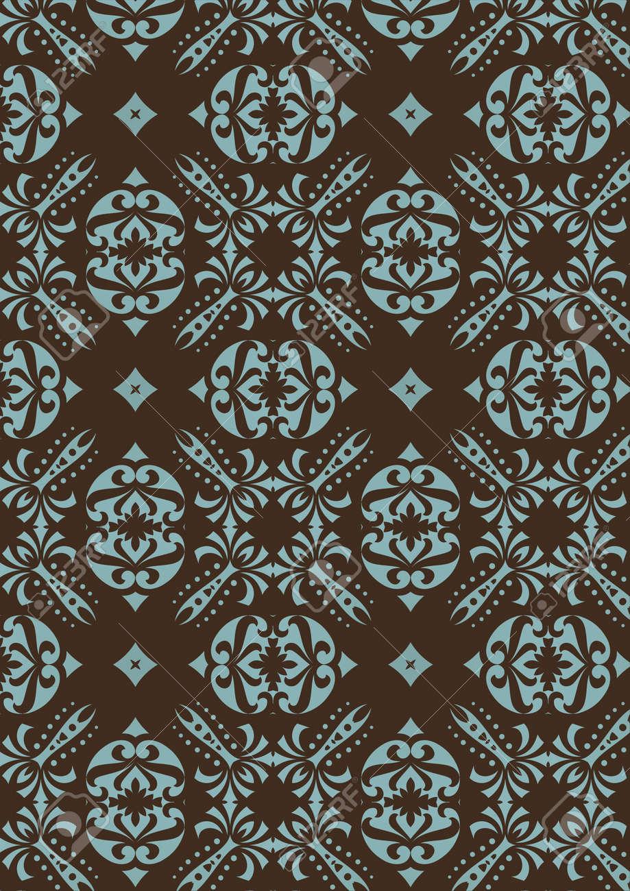 retro wallpaper Stock Vector - 13654456