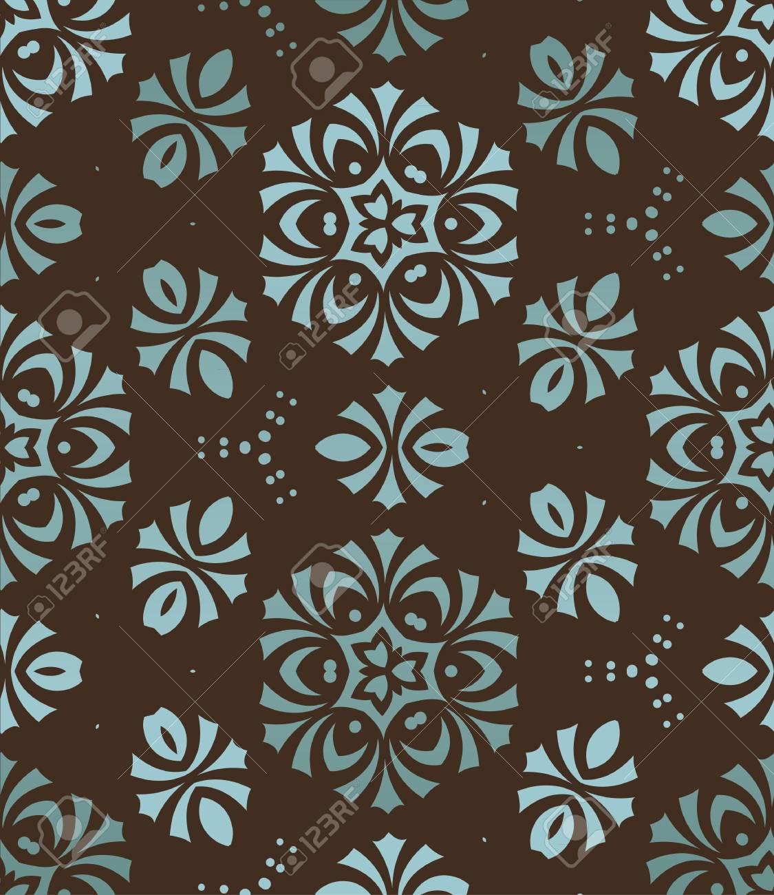 retro wallpaper Stock Vector - 13654446