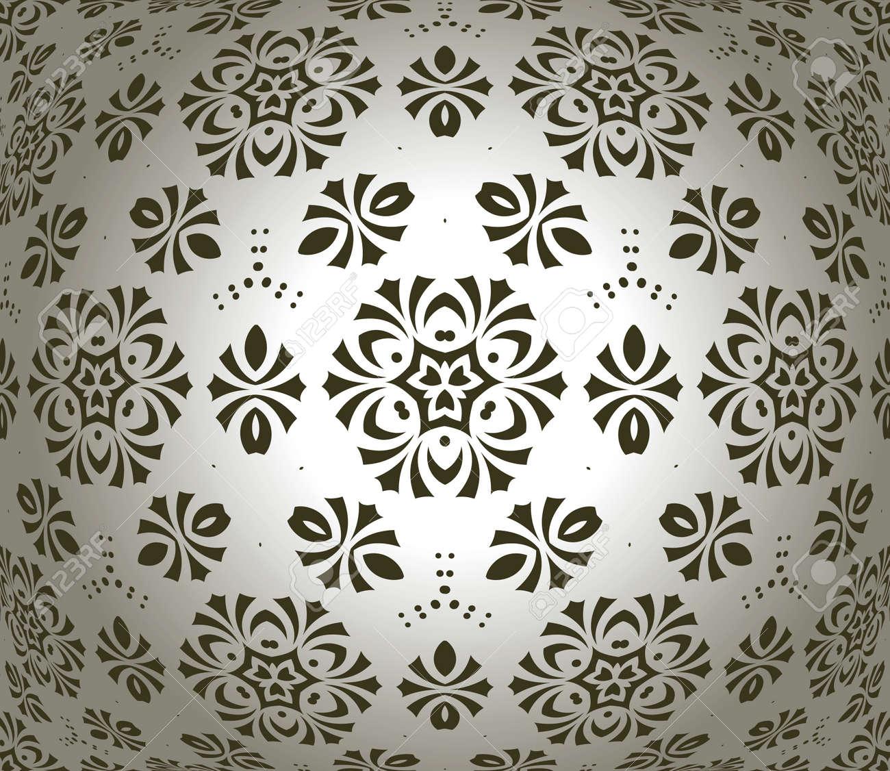 retro wallpaper Stock Vector - 14234396
