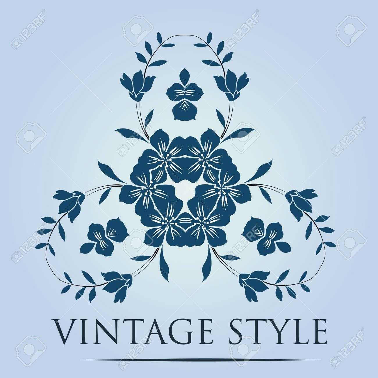 retro wallpaper Stock Vector - 14286332