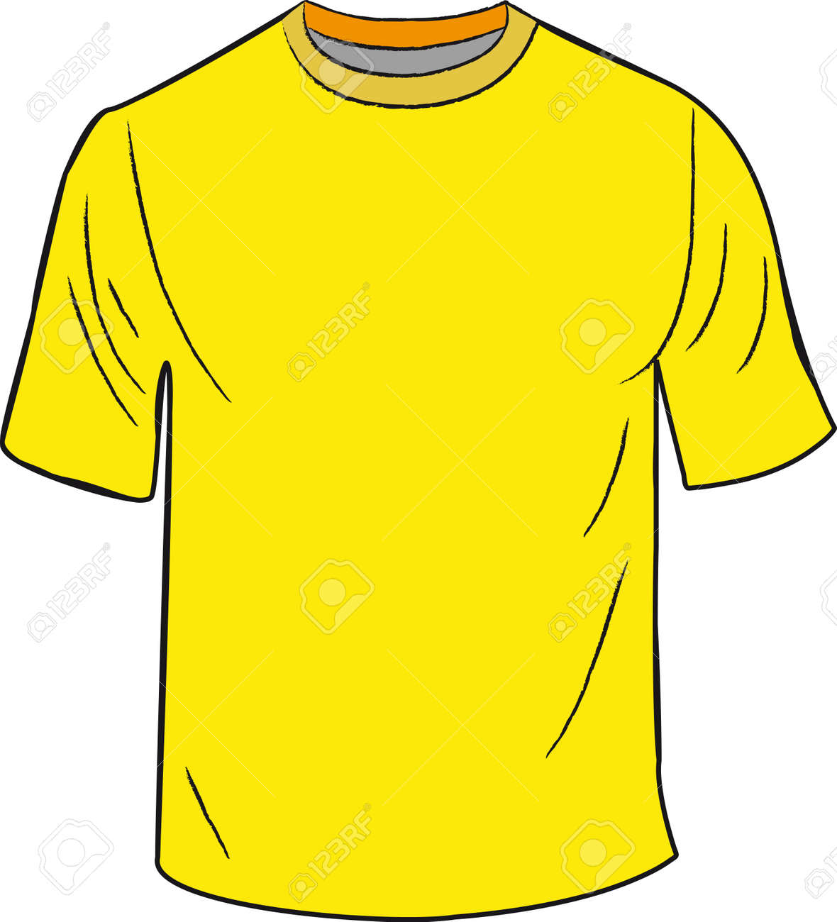T Shirt Design Template Stock Vector